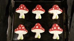 Toad Stool Cookies