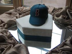 Baseball Cap on Homeplate