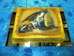 Dungeons and Dragons- Edible Image