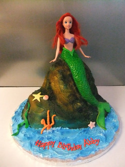 Doll Cake- Mermaid