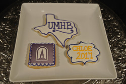 Grad Cookies Personalized