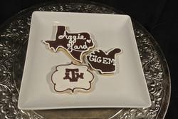 Grad Cookies Aggie