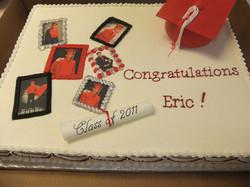 Classic Grad Cake
