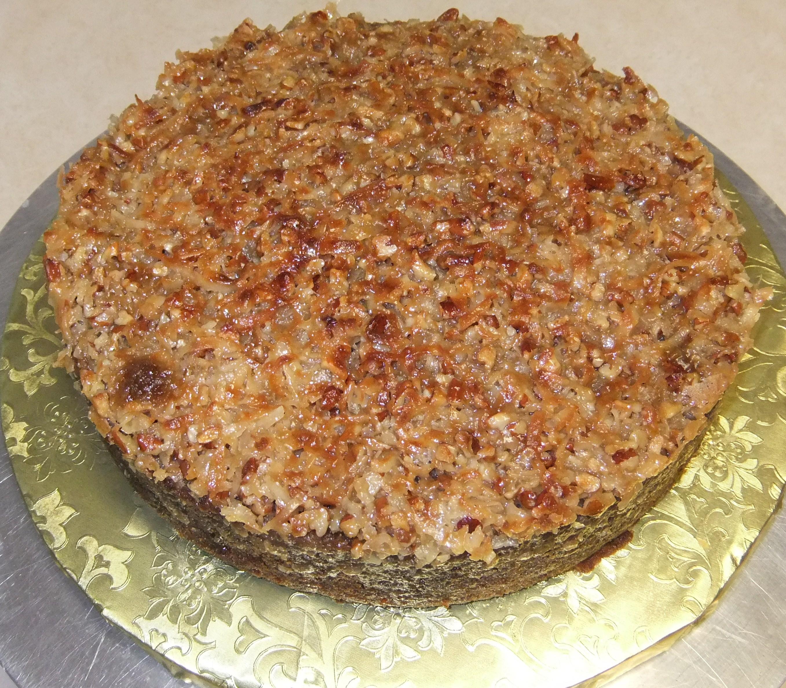 Cake Ambrosia Cake- Dessert cake only, n