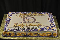 Grad Purple and Gold