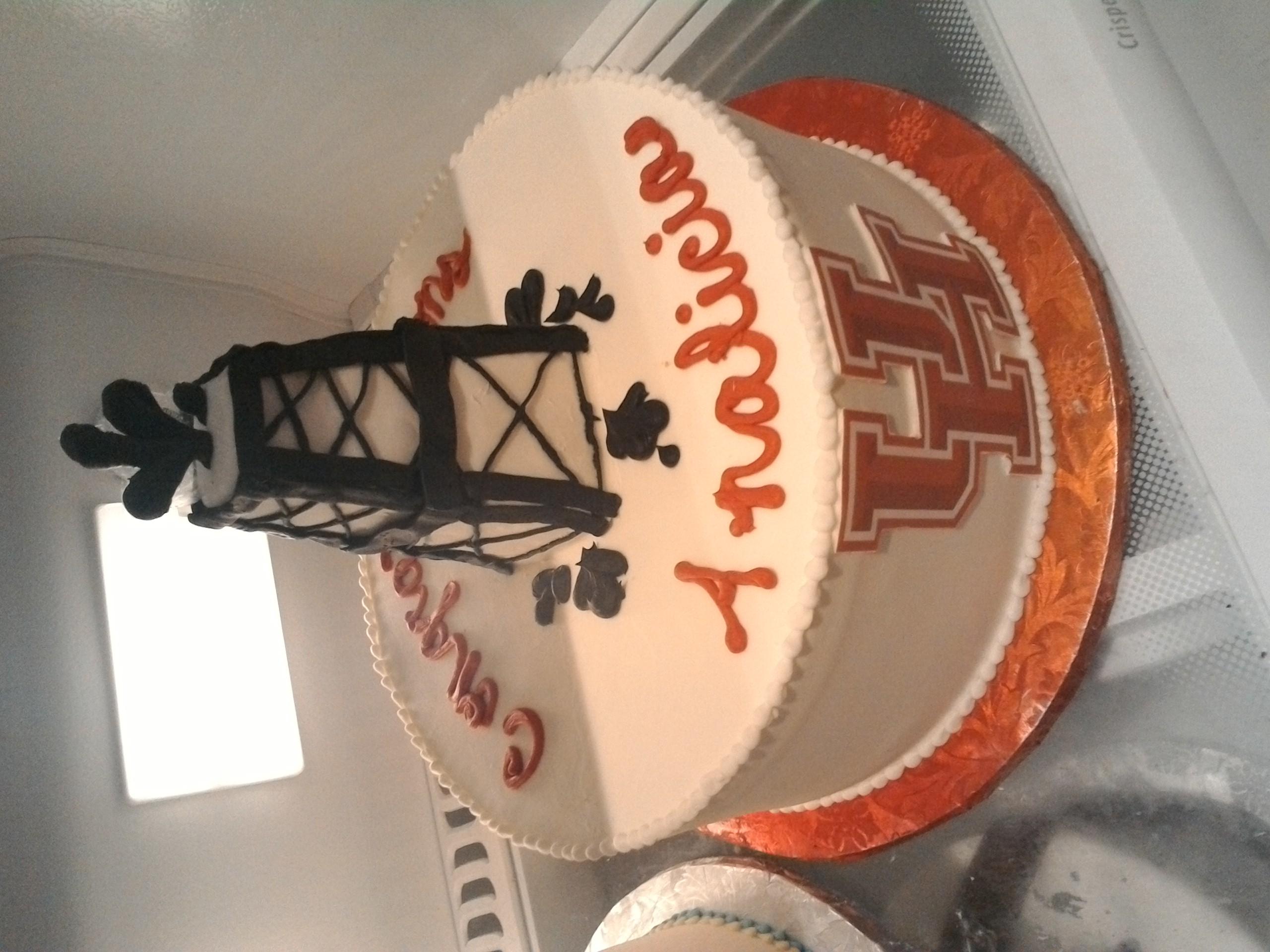UofH Grad Cake