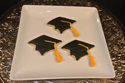 Grad Cap Cookies
