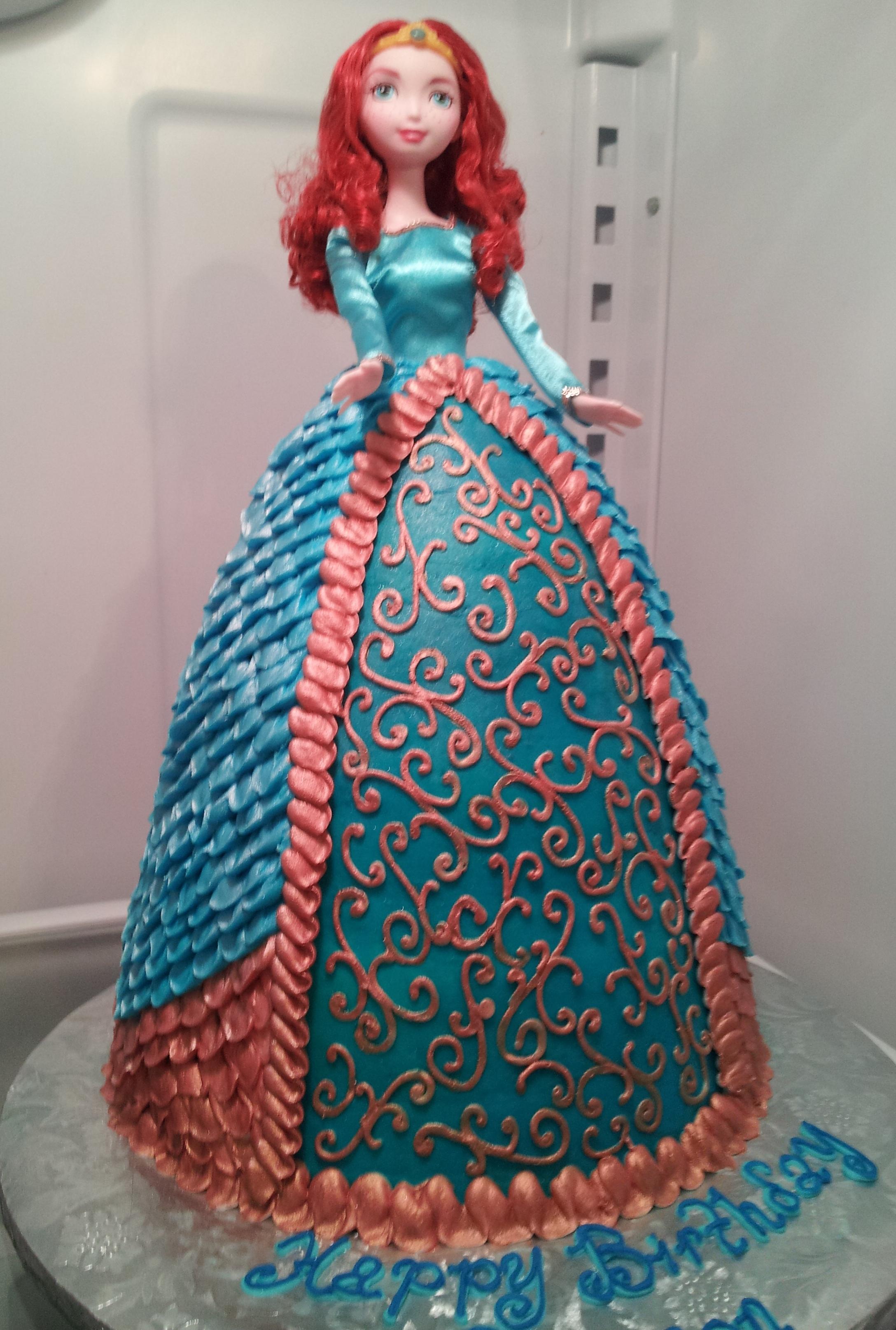 Doll Cake- Brave