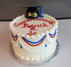 Small Grad cake