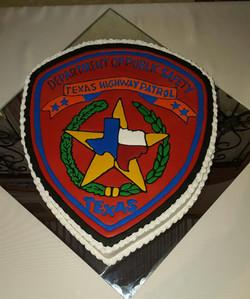Texas Highway Dept Badge
