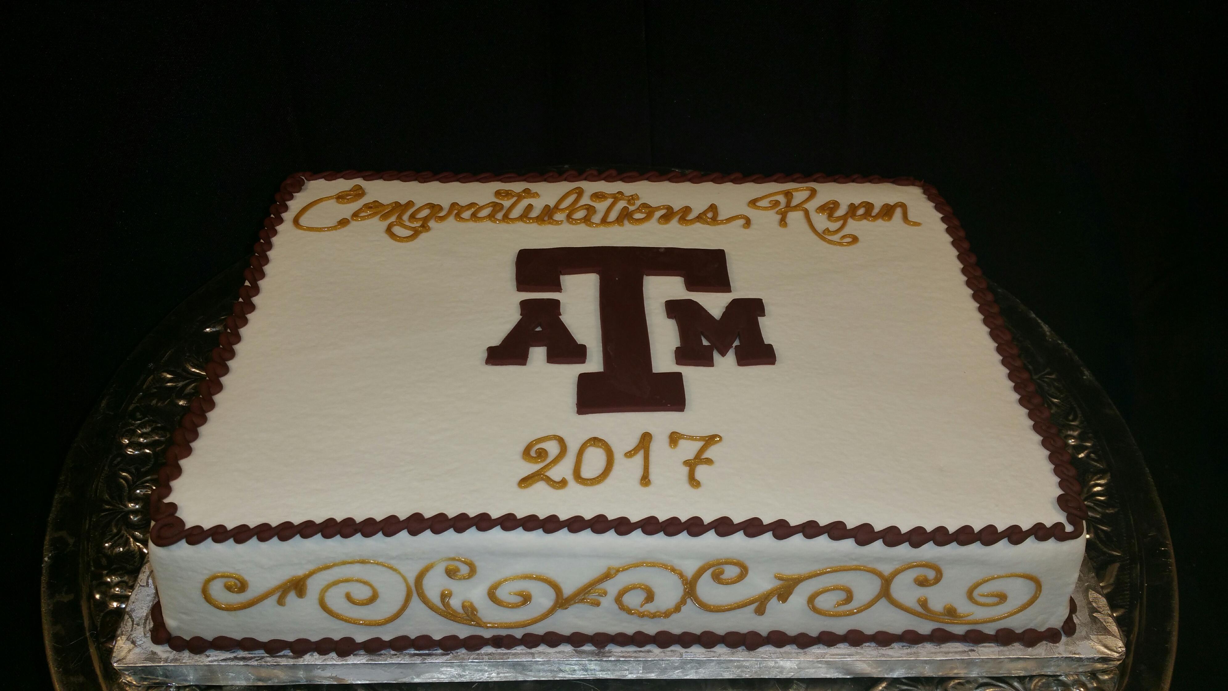 Graduation Sheet Cake 2