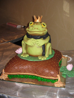 Sculpted Frog Prince