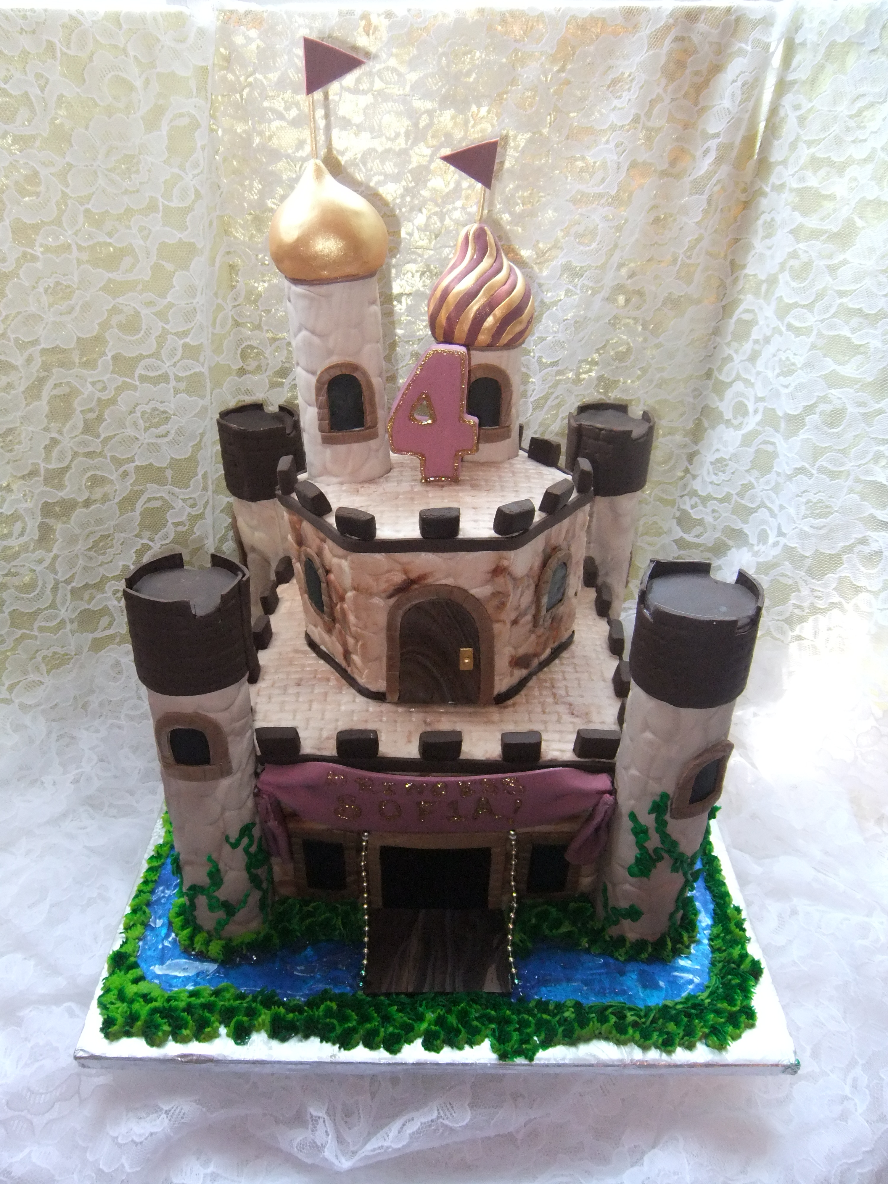 Fairytale castle- browns and beige