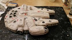 Star Wars-Millineum Falcon Cake