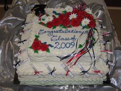 Sr.Class Graduation cake