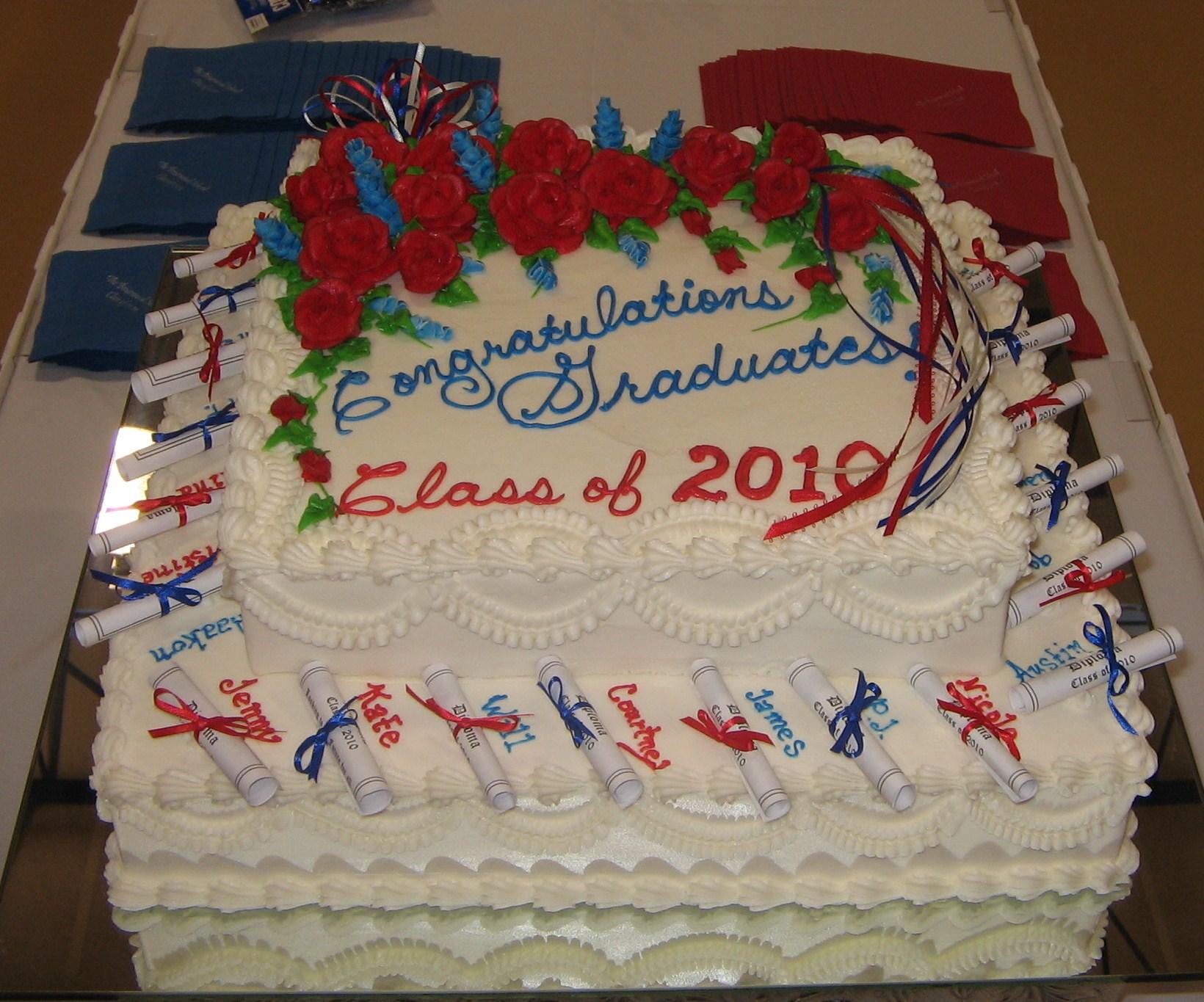 Sr. Class Grad Cake 2