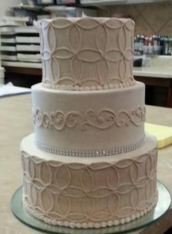 Cinnamon Wedding cake