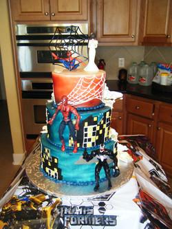 Half Spiderman-Half Wedding