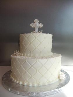 Christening-Baptism Cake