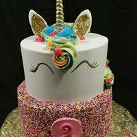 Unicorn 2tier-sprinkles