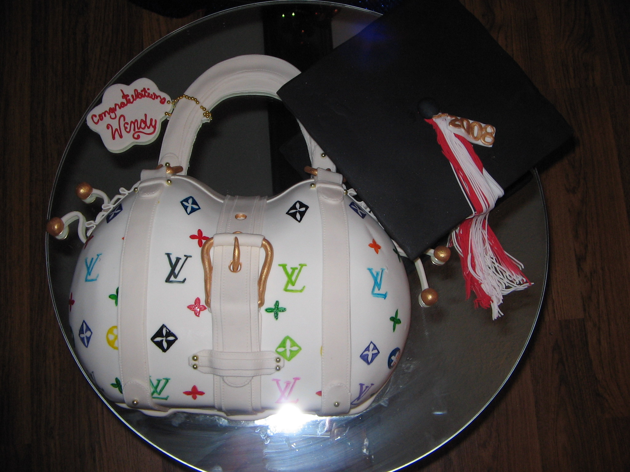 Louis Vuitton and Grad cap
