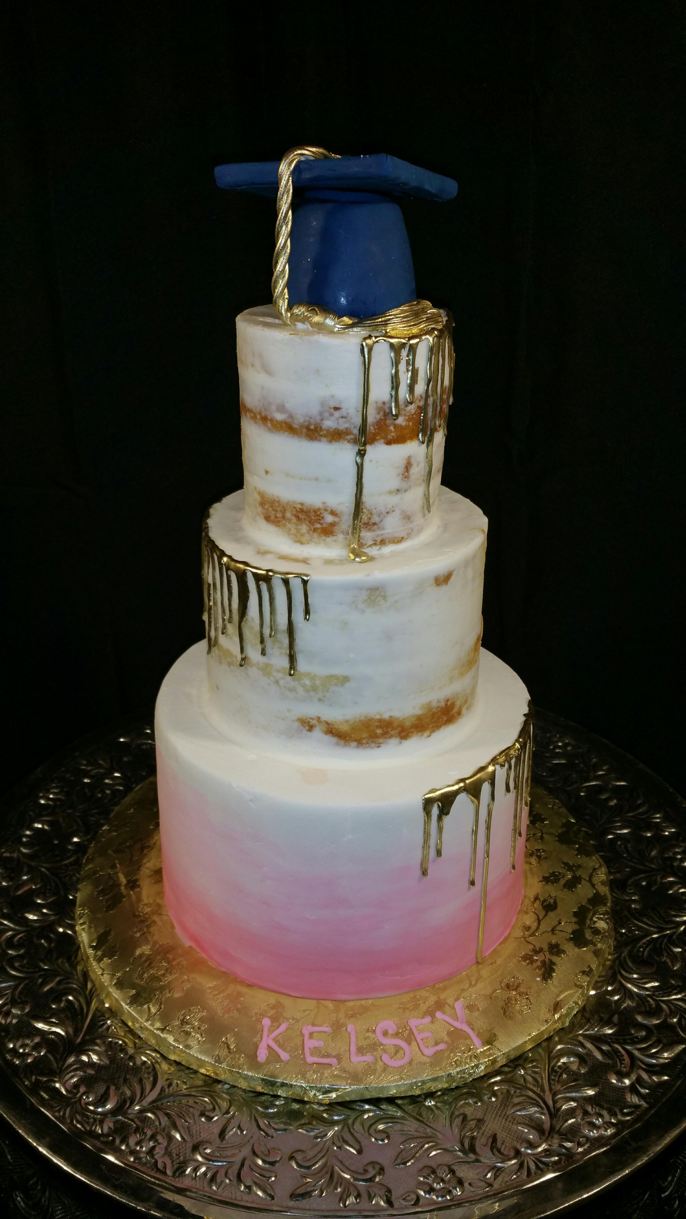 Graduation Naked Cake 2