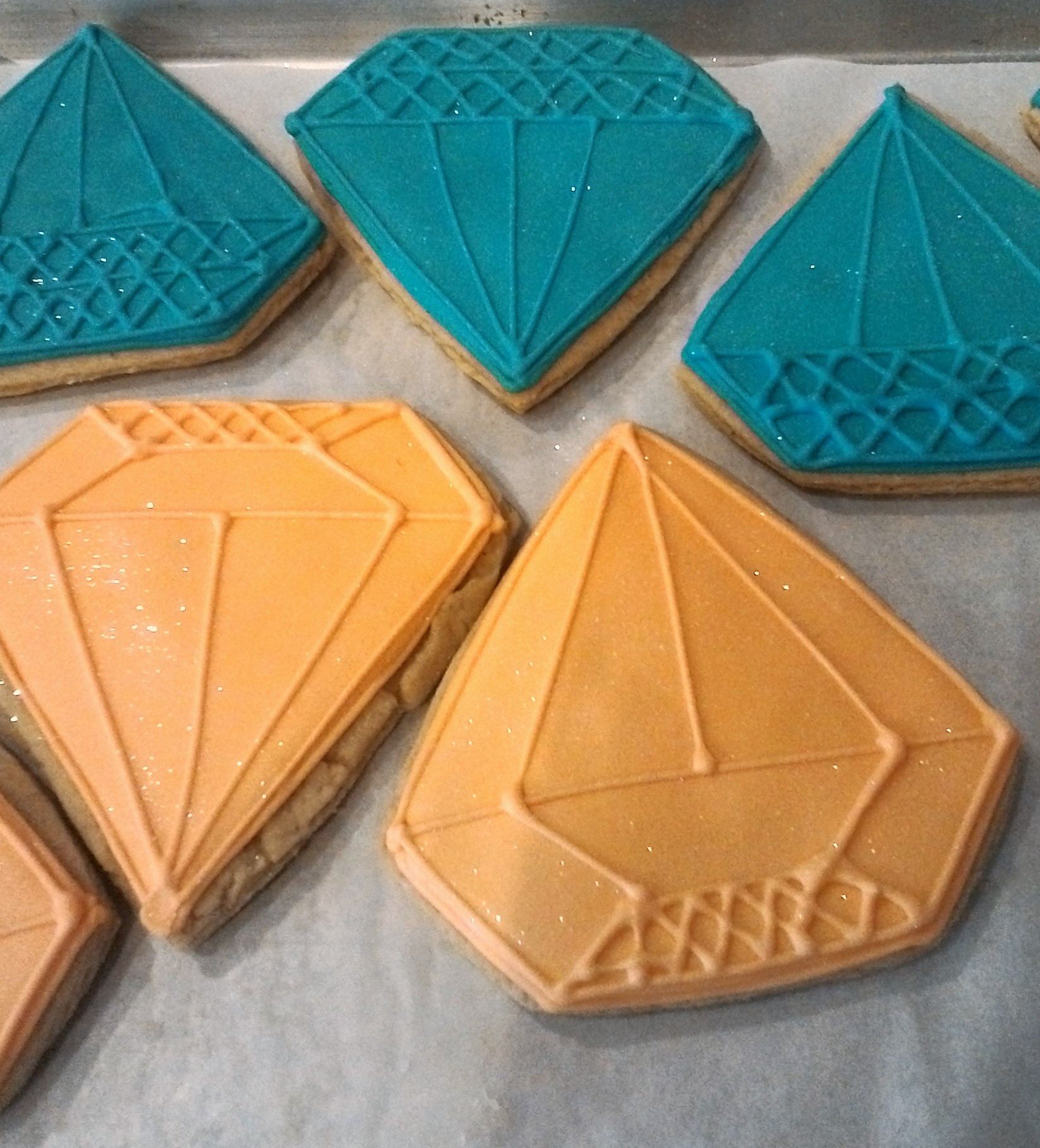 Jewel Cookies, Client's cutter