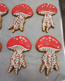 Jelly Fish Cookies, Client's cutter