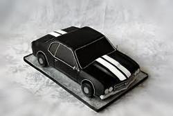 3-D chevy chevelle-black