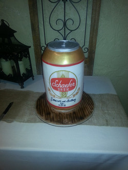 Schaeffer 3-D beercan