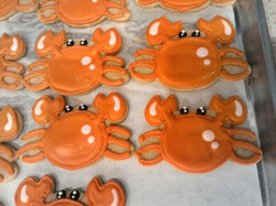 Crab Cookies, Client's cutter