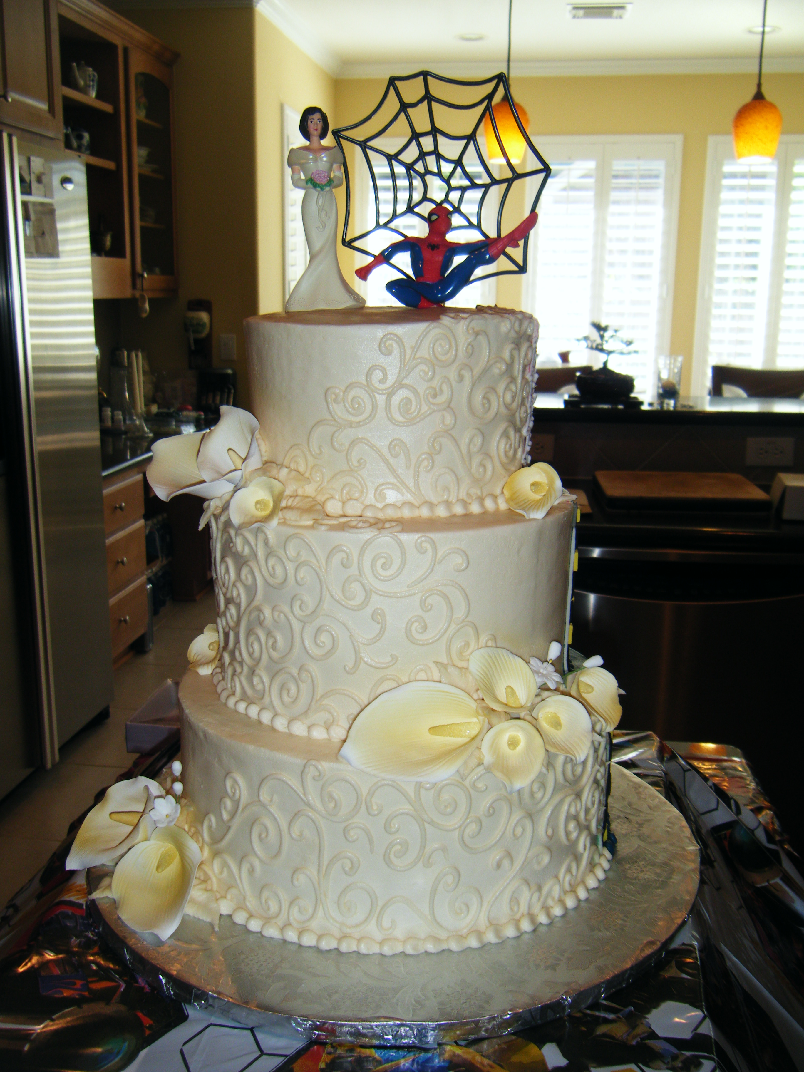 Half Spiderman-Half Wedding (2)