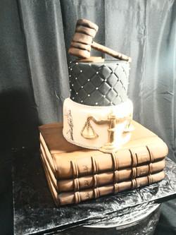 Graduation Law School Cake 7