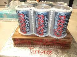 Beer can 6 Pack