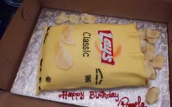 Potato Chips Sculpture cake