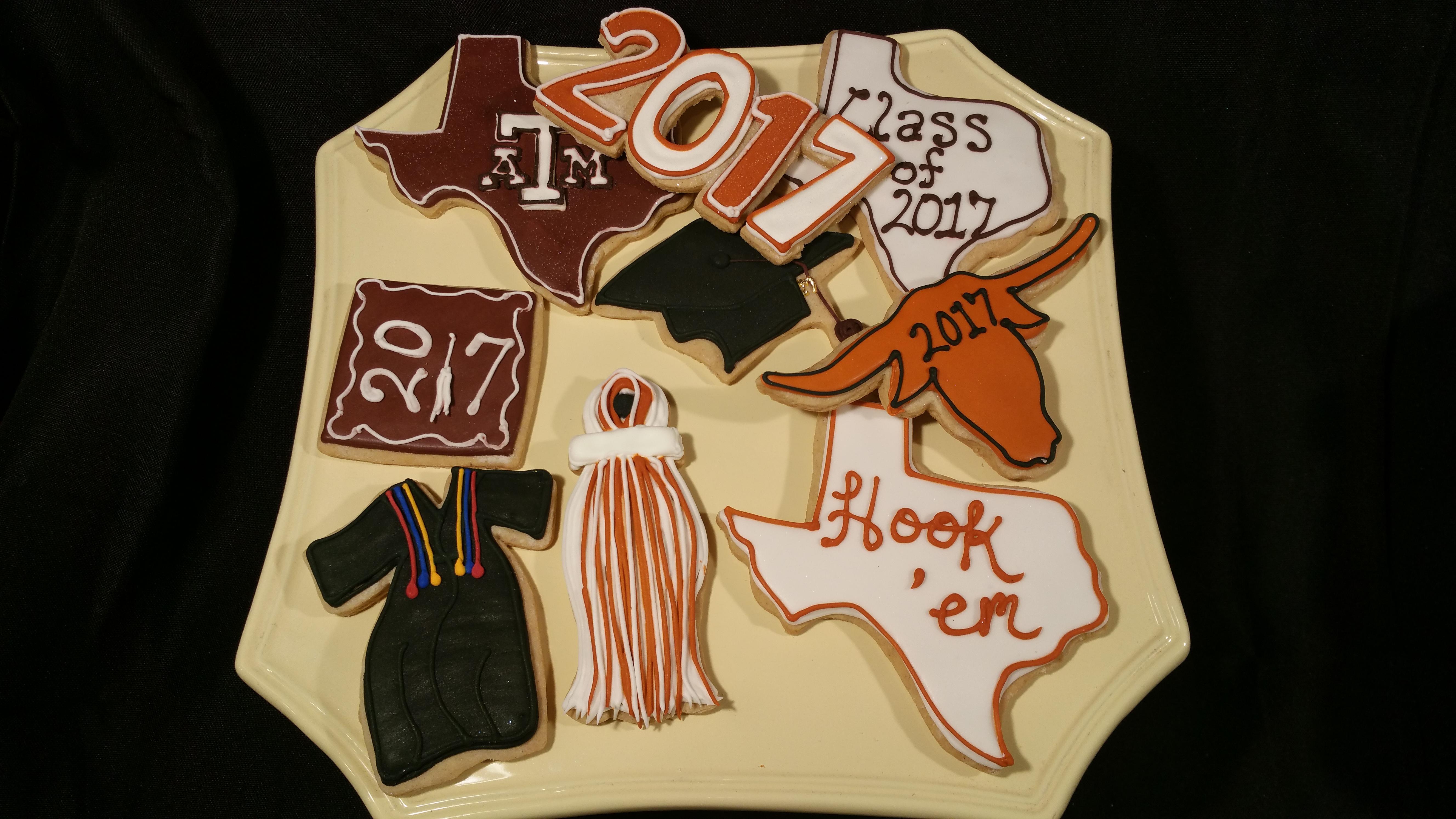 Grad Cookies UT 2