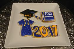 Grad Cookies Klein