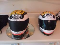 Sculpted Racing Helmet