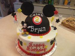 Mickey's Hat cake