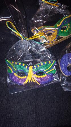 Mardigras Mask Cookies