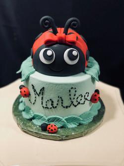 Lady bug 1 tier