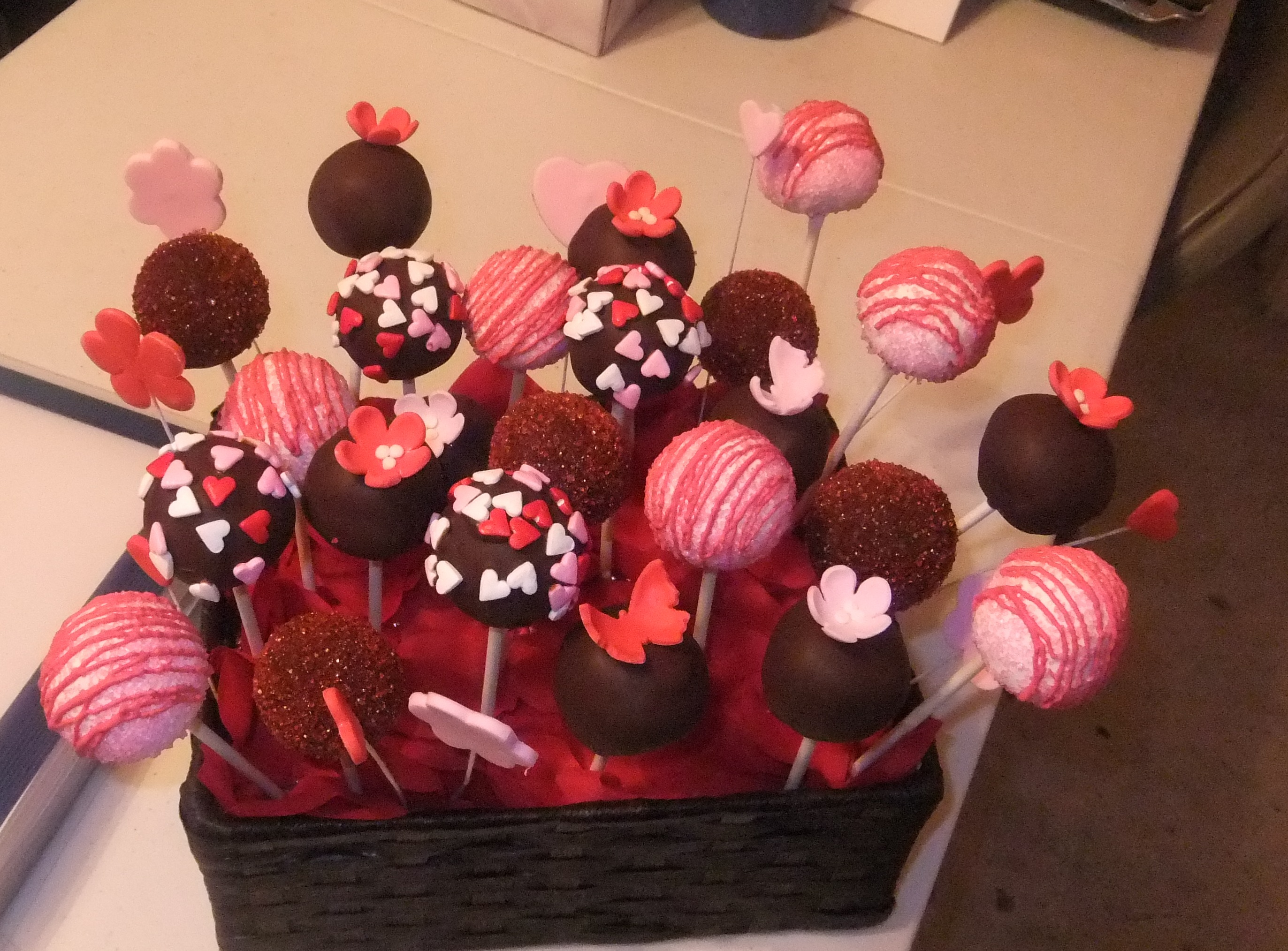 Cake pops Box of Pops