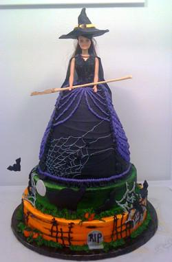 Barbie Witch Cake