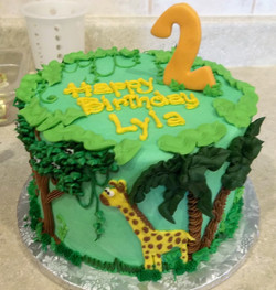 Jungle- giraffe