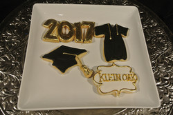 Grad Cookies Klein Oak