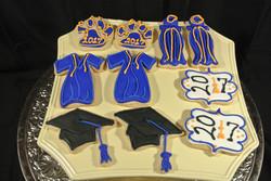 Grad Cookies Klein 3