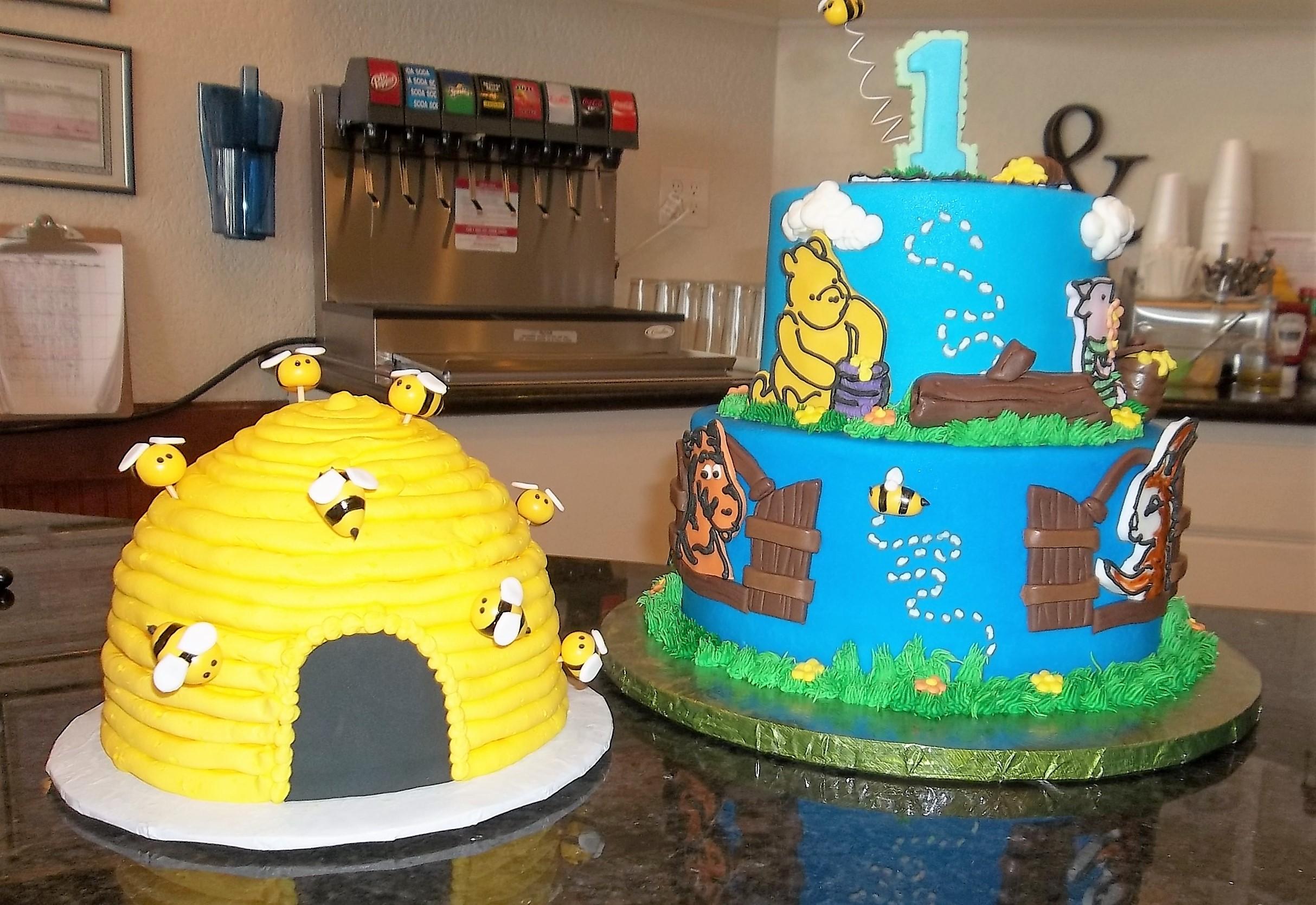 Winnie the Pooh and Hunny