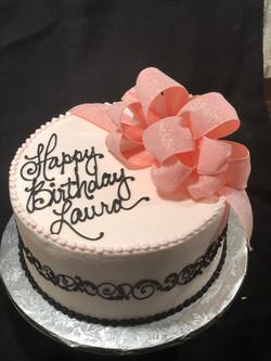 Lady's Birthday cake