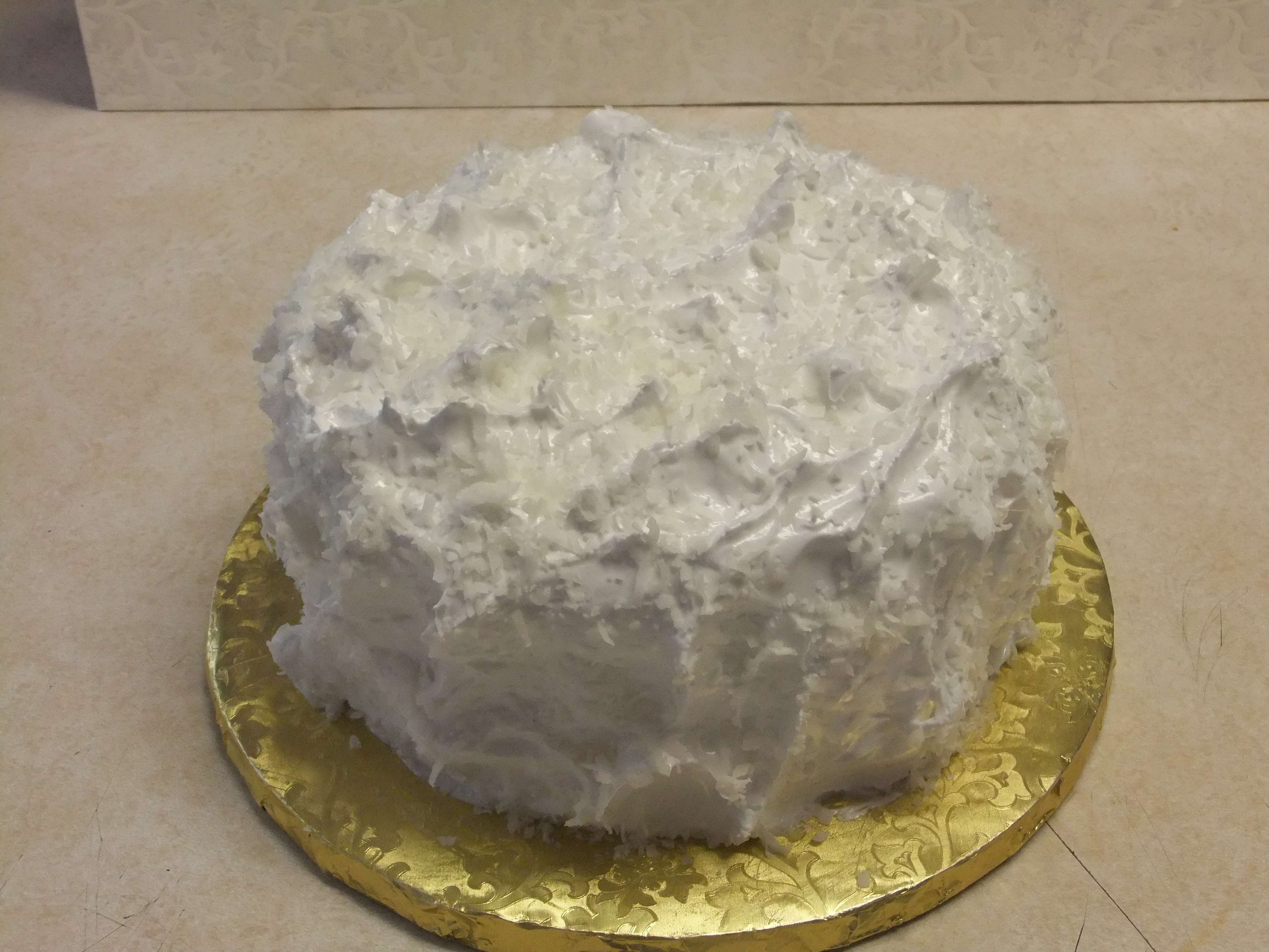 Cake Old Fashion Coconut Cake