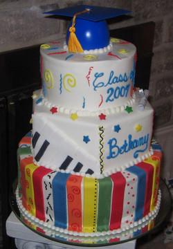 Multi-color Grad Cake